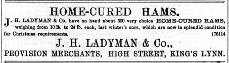 1897 Jan 15th Ladymans @ 39 & 40
