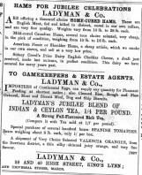1897 June 4th Ladymans @ Nos 39 & 40 01