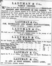 1897 May 21st Ladymans @ Nos 39 & 40