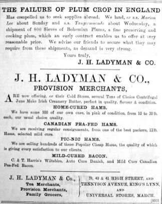 1903 Aug 28th Ladymans