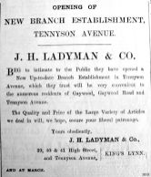 1903 July 17th Ladymans open branch