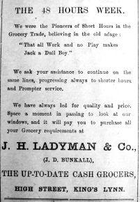 1919 Feb 7th Ladymans