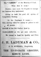 1919 Mar 28th Ladymans