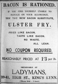 1940 Jan 12th Ladymans rationing