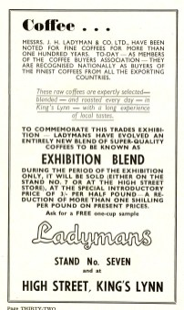1955 Aug 24to31 Trades Exhib prog Ladymans