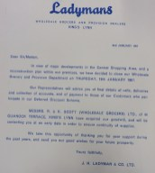 1967 Jan 2nd closure notice Ladymans Archive