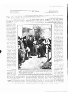 1906 Nov 10th Graphic Knighthood for Sir William Lancaster (see Elizabeth Billing)