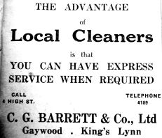 1950 Jan 20th C G Barrett & Co
