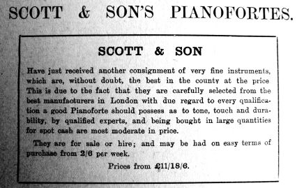 1910 Aug 12th Scott & Son