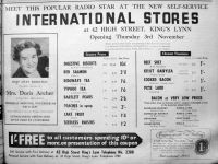 1960 Nov 1st International Stores