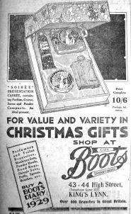 1928 Dec 7th Boots