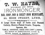 Sconces Almanack 1904 T W Hayes