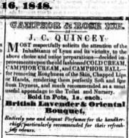1848 Dec 16th Quincey @ No 46