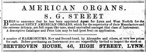 1876 June 17th S G Street @ No 46