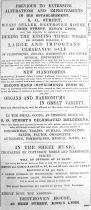 1893 Feb 25th S G Street alterations