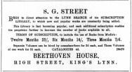 1895 June 1st S G Street @ No 46