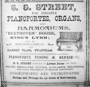 1904 Sconces Almanack S G Street