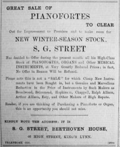 1907 Aug 30th S G Street
