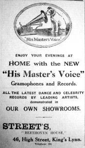 1927 Feb 18th HMV