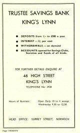 1955 Aug 24to31 Trades Exhib prog Trustee Savings