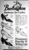 1926 June 25th Freeman Hardy & Willis