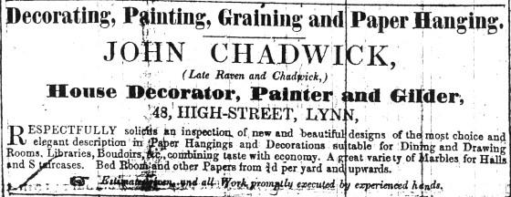 1851 Feb 15th John Chadwick