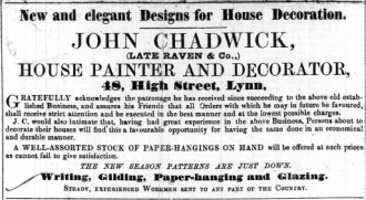 1853 March 19th John Chadwick @ No 48