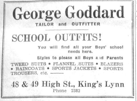 1950 May 12th George Goddard