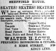 1893 Dec 30th Walter H Lowe