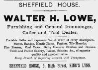 1895 Royal Regatta 21st Aug Walter Lowe