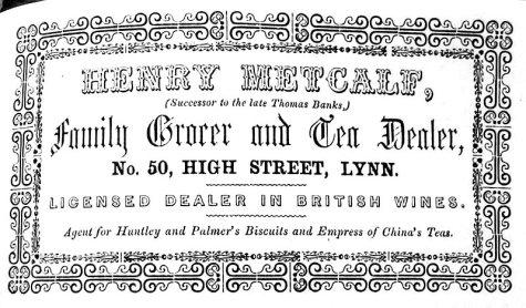 1856 Directory Henry Metcalf (Lynn Forums)
