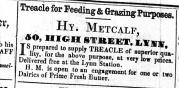 1856 Oct 11th Henry Metcalf @ No 50
