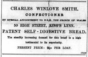 1896 April 4 Chas Winlove Smith @ No 50