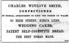 1896 Jan 11 Chas Winlove Smith @ No 50