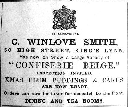1914 Nov 27th Winlove Smith