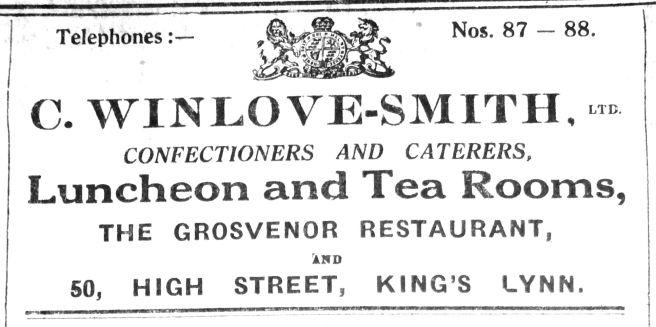 1927 Dec 16th C Winlove Smith