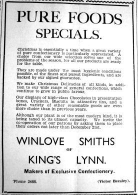 1935 Dec 13th Winlove Smith Beesley