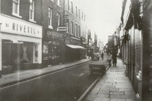 1960s Nos 48 to 51 High Street (James Tuck Lets Look at Lynn 1988)