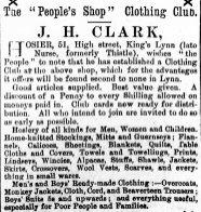 1879 11th Jan J H Clark