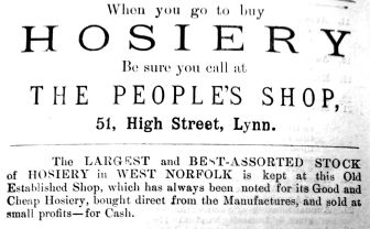 1885 Lynn News Almanack J H Clark 02