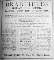 1921 Mar 25th Bradfields