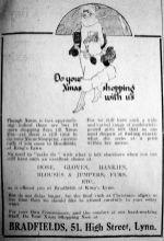 1924 Dec 12th Bradfields Xmas 2