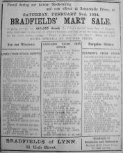 1924 Feb 1st Bradfields