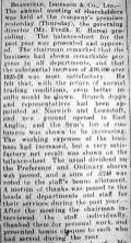 1927 Apr 1st Bradfield Ibbersons AGM report