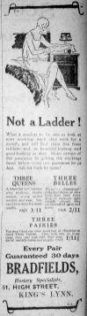 1927 July 1st Bradfields