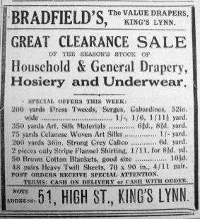 1934 Feb 2nd Bradfields