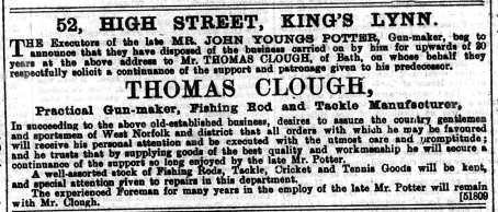 1892 June 25th Thomas Clough @ No 52 (01)