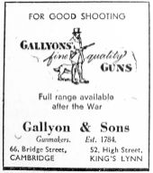 1945 Mar 23rd Gallyon & Sons grayscale