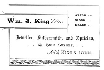 1895 Royal Regatta 21st Aug Wm J King
