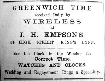 1920 Sept 3rd J H Empson